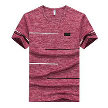 2019 Plus Size 9XL Men Big Tall T-shirt Short Sleeves Oversized T Shirt Cotton Male Large Tee Summer Fit