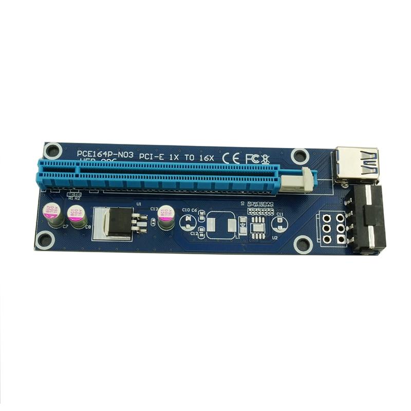 riser card usb 3.0 cabo Included 1 : 1X Pci-e 16x Adapter