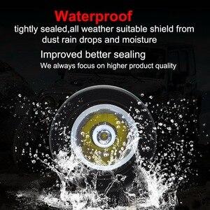 Image 5 - Safego projecteur de travail led, 10w, 2 pièces, projecteur de route/projecteur 12/24v, feu antibrouillard pour motocyclette 4x4, ATV