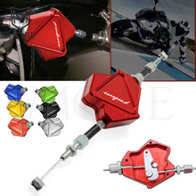 Motorcycle Accessories CNC Aluminum Stunt Clutch Lever Easy Pull Cable System For Bajaj Pulsar 200 NS All Years