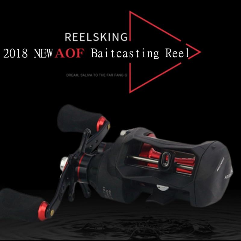 2018 baitcasting fishing reel 12+1BB 7.0:1 bait casting pesca wheel Left Hand/Right Hand hengelsport carp moulinet carretilhas