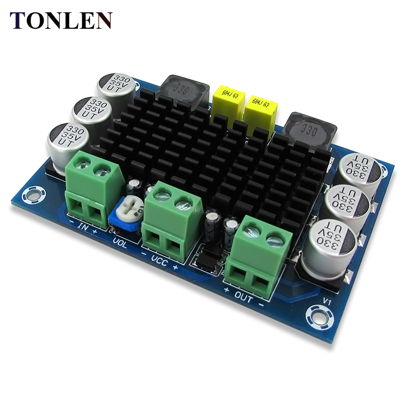 TONLEN TPA3116 D2 Mono Digital-audio-verstärker-brett Klasse D 100 Watt Verstärker DC12-26V DIY XH-M542 HIFI Amp Modul
