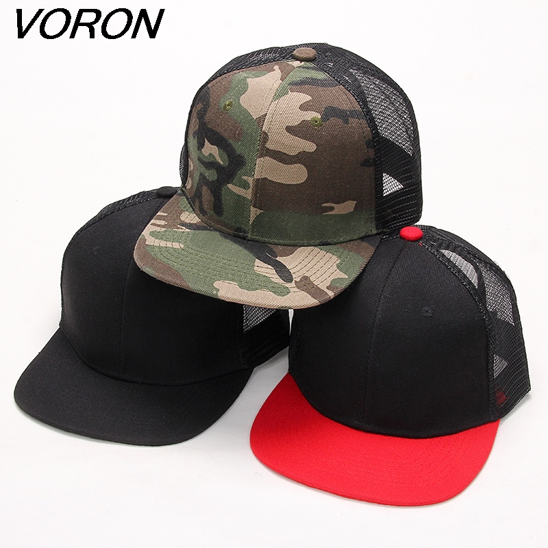 VORON 2017 New Styles Blank mesh Snapback Hats hip hop mens women Casquettes gorras baseball caps solid hat [jamont] love skullies women bandanas hip hop slouch beanie hats soft stretch beanies q3353