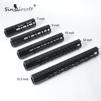 SINAIRSOFT Brand 7 9 15 AR15 Free Float Keymod Handguard Picatinny Rail Tactical Rifle Scope Mount for Hunting Accessories