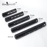 SINAIRSOFT Brand 7 9 10 12 13 5 AR15 Free Float Keymod Handguard Picatinny Rail Tactical