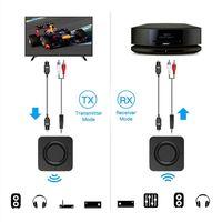 Bluetooth 5.0 Audio Transmitter Receiver CSR8670 Aptx LL Adapter Optical Toslink 3.5mm AUX SPDIF for Car TV Home Headphones