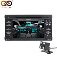 Sinairyu Android 8.0 Octa Core Car DVD Player for Porsche Cayenne 2003 2010 GPS Navigation Multimedia Radio Stereo Head Unit