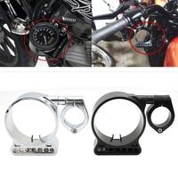 evomosa Motorcycle Side Mount Speedometer Relocation Bracket Cover Instrument Bracket Case Housing For Harley Sportster XL883