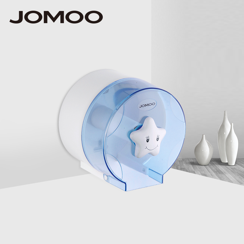 JOMOO Toilet Paper Holder Bathroom Paper Holders ABS Plastic Circular Shape Washroom Wall Mounted Tissue Roll Box Holder the paper carton wall plastic roll plastic creative paper towel box paper market box carton