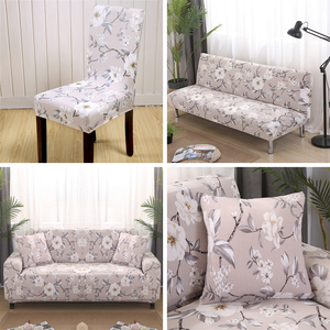 Image 3 - Universal 1/2/3/4 seater universal sofa cover stretch seater covers Couch cover Loveseat sofa Funiture home Christmas decoration