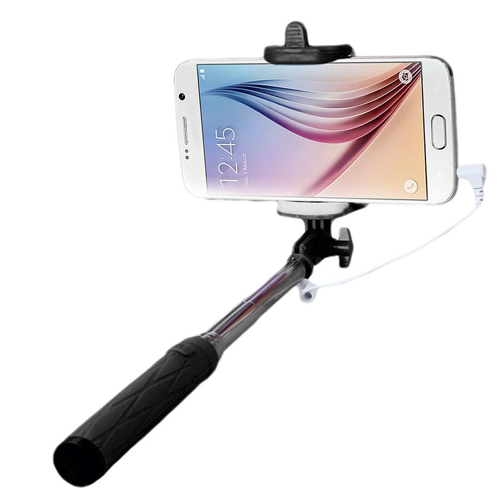 Handheld Extendable Self-Pole Tripod Monopod Stick For Smartphone for IOS Android for iPHONE for Samsung XIAOMI for Huawei MEIZU