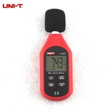 UNI-T UT353 db 30 ~ 130dB Mini Tester de Ruido de Sonido Mini Palanca de Decibelios de Voz Monitor Rápida/Lenta indicación de sobrecarga