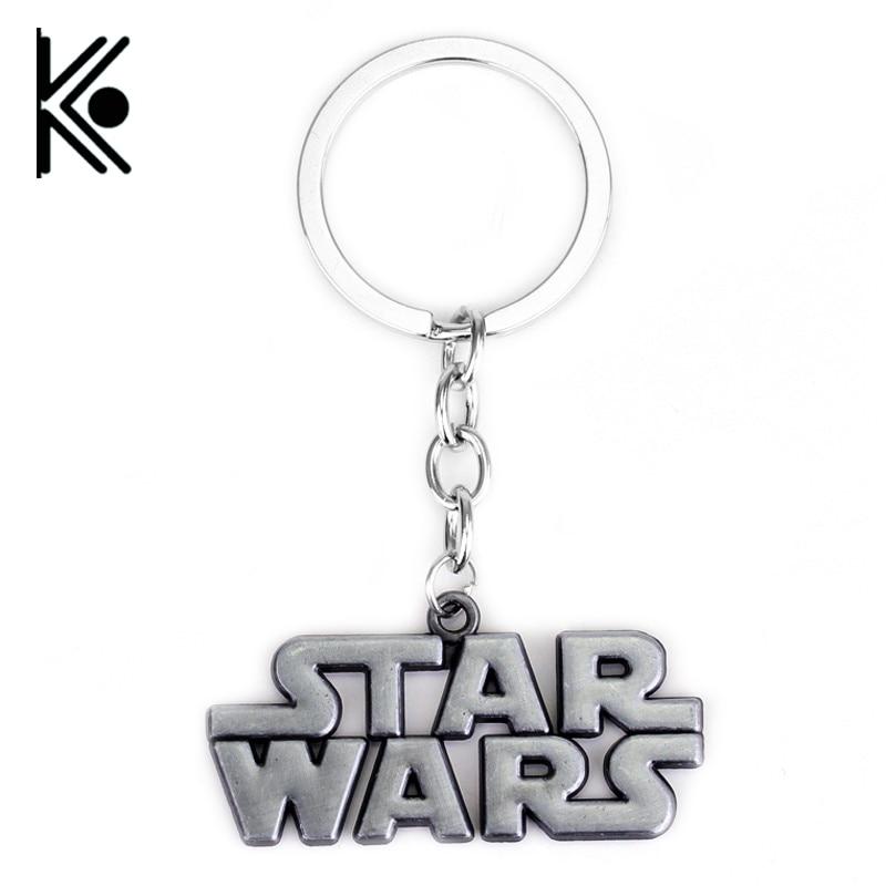 Movie STAR WARS Keychains Star Wars Key Holders For Men Star Wars jewelry Logo key chain high quality keyring все цены