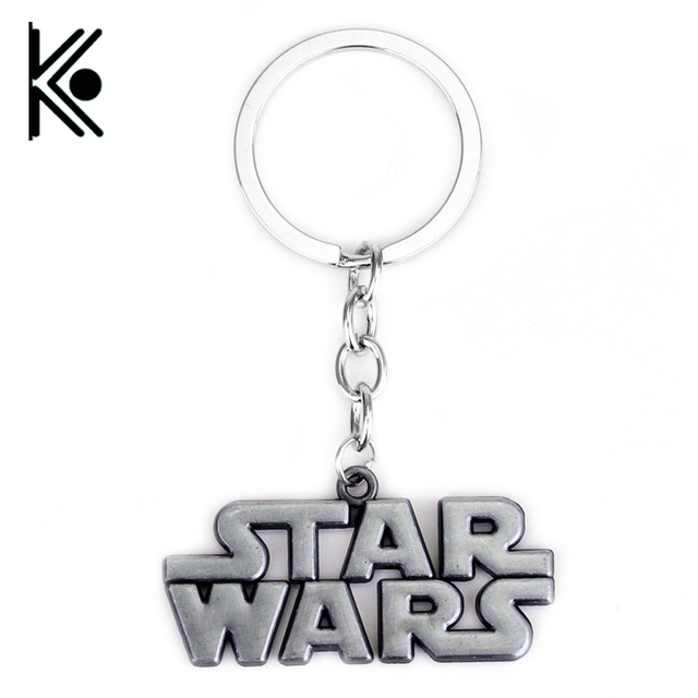 Movie STAR WARS Móc Khóa Star Wars Giữ Chìa Khóa Cho Người Đàn Ông Star Wars đồ trang sức Biểu Tượng chìa khóa xích chất lượng cao keyring
