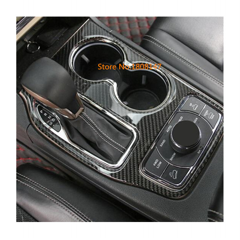 3c8e6dea6af Car inner middle handbrake Shift Stall Paddles cup switch frame lamp trim  1pcs For Jeep Grand Cherokee 2014 2015 2016 2017 2018