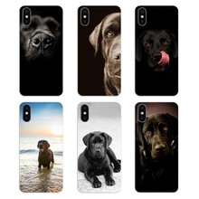 Для samsung Galaxy A5 A6 A7 A8 A9 J4 J5 J7 J8 2017 2018 Plus Prime мягкие чехлы из ТПУ hello pretty Black Lab Labrador puppy Dog Art(China)
