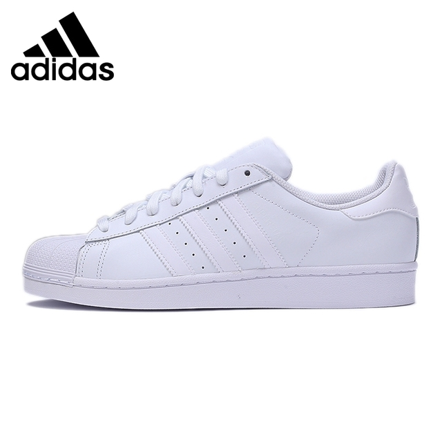 new style 777e1 67032 Original Nouvelle Arrivée 2018 Adidas Originals Superstar Unisexe Planche À  Roulettes Chaussures Sneakers