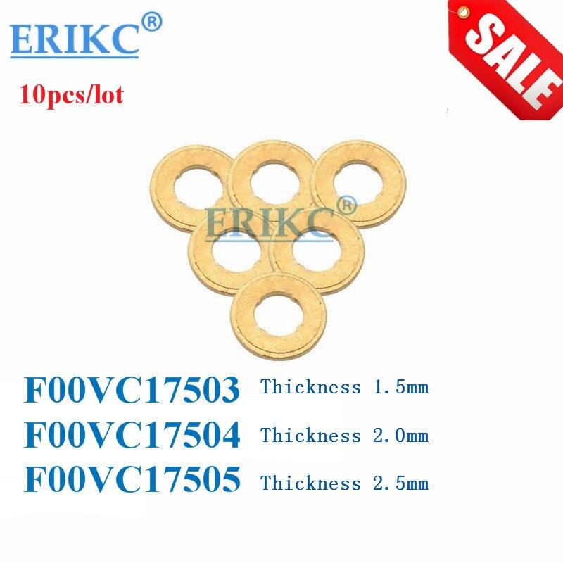 US $6 49  F00VC17503 F00VC17504 F00VC17505 for BOSCH NOZZLE COPPER washer F  00V C17 503 and F 00V C17 504 and F 00V C17 505 10 pcs/ lot-in Fuel