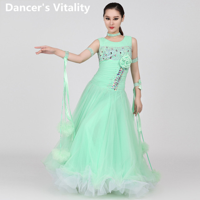 Latin Dance Dance Kleid Damen Kresse Moderne Kleider