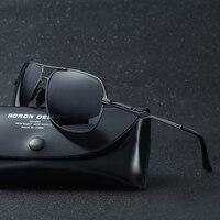 Polarisierte Sonnenbrille Männer Fahrer Spiegel sonnenbrille Männlich Brillen Für quadratisch brillen 197