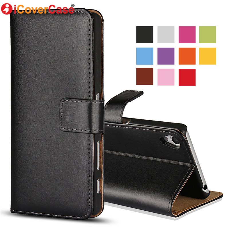 Case For Sony Xperia Z1 Compact Leather Wallet Bag For Sony Xperia Z1 Phone Cases Mobile