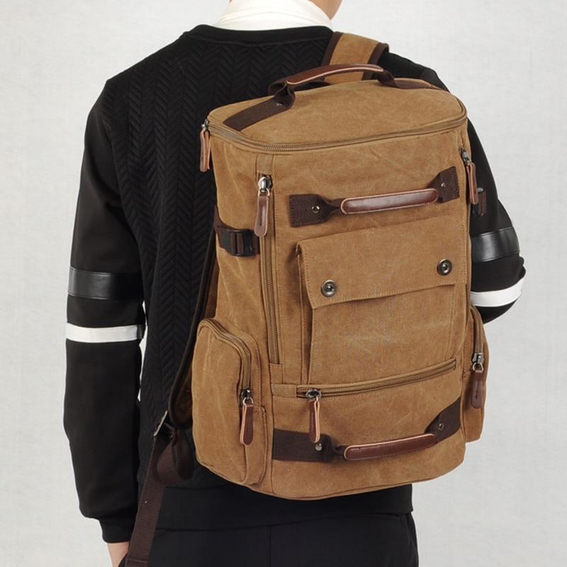 Travel Bag Large Capacity Men School Shoulder Computer Backpacking Large Capacity Man Travel Bag Mountaineering