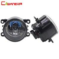 Cawanerl 2 X 100W H11 Car Light Halogen Fog Light Daytime Running Lamp DRL 12V High