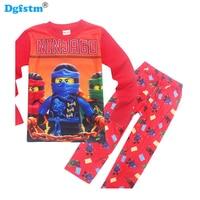 Boys Ninjagoes Christmas Pijamas Kids Set Children S Girls Pajamas Baby 3 9 Years Cartoon Enfant