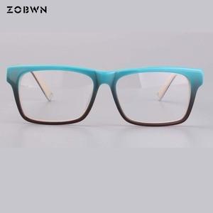 Image 2 - ZOBWN ผสมขายส่ง Vintage Designer กรอบแว่นตาผู้หญิงแว่นตา Clear Lens กรอบแว่นตาผู้หญิง oculos de grau feminino