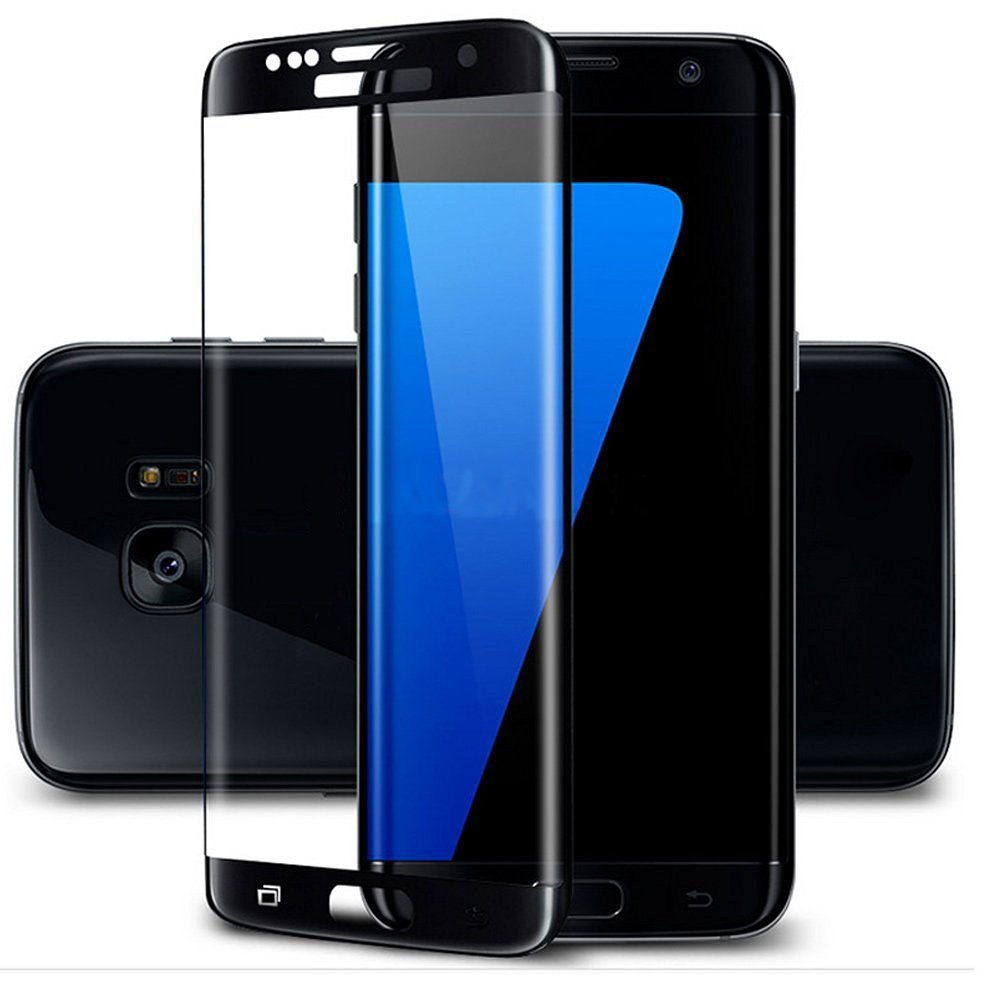 Suntaiho Full 3D Curved Tempered Glass Film For Samsung Galaxy S7 S7 Edge 9H Front Protective Screen Protector Full Coverage