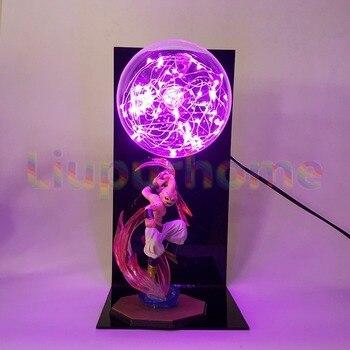 Dragon Ball Z Majin Буу Светодиодная лампа ночник Настольный светильник аниме Dragon Ball Z Буу свет Luces Navidad >> Marvellous World