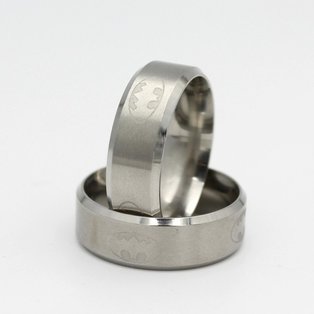 Batman Ring Stainless Steel