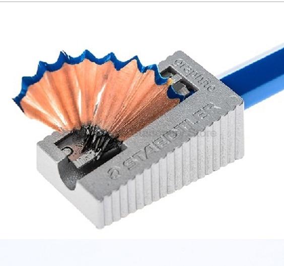 3 Pcs/Lot STAEDTLER 510 10 metal Pencil sharpener Girl & Boy manual sharpener for kids Stationary Office School supplies