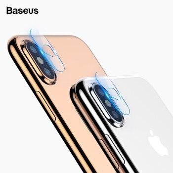 7d0ffe811 Baseus lente de cámara trasera vidrio templado para iPhone X S Xs Max Xsmax  lente de teléfono Protector de pantalla de vidrio para iPhonexs.