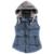 Mulheres Outono/Inverno Colarinho de Lã de Moda Colete Com Capuz Grosso Quente Para Baixo Algodão Colete Feminino Tamanho Grande Jacket & Casacos SY045SY