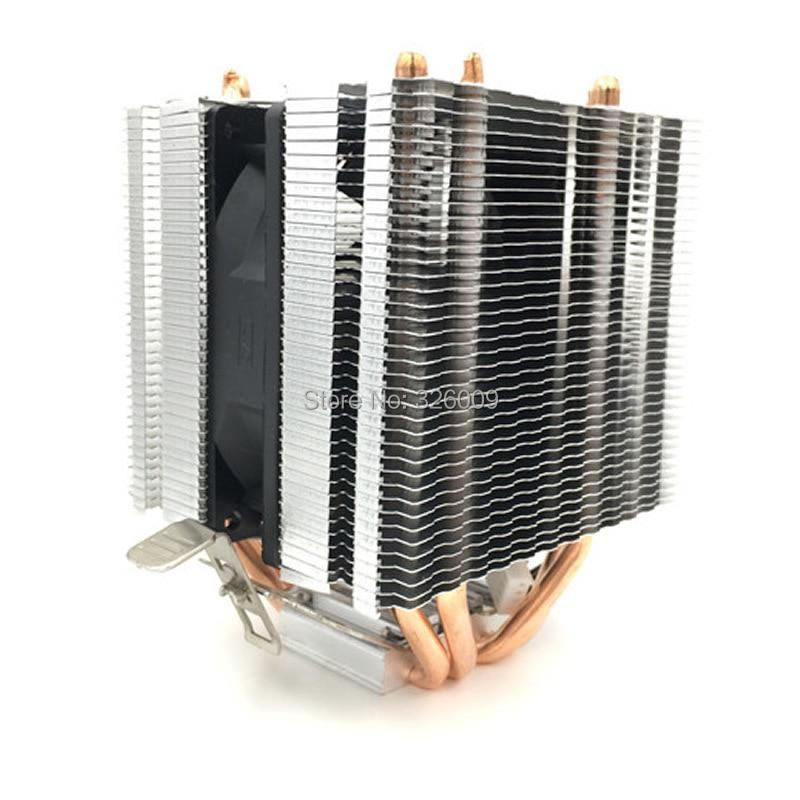 Enfriador de CPU ARSYLID CN-0409A Ventilador de 9 cm 4 Heatpipe Enfriamiento para AMD AM3 AM4 para Intel LGA775 1151 115x 1366 2011 ventilador del radiador