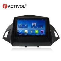 HACTIVOL 9 Quad core радио автомобиль gps навигация для Ford KUGA 2013 2014 2015 android 7,0 автомобиль DVD видео плеер С 1 г Оперативная память 16 г Встроенная память