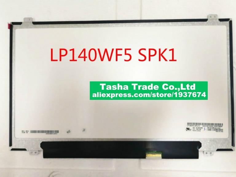 Pour LG Philips LP140WF5-SPK1 14 Dans la Cellule Tactile Écran D'ordinateur Portable SD10K93494 00NY442 LP140WF5 SPK1
