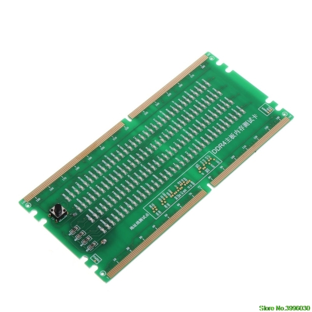 DDR4 Test Card RAM Memory Slot Out LED Desktop Motherboard Repair