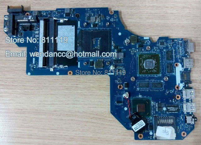 686930-001 690293-001 for hp pavilion M6 M6-1000 laptop motherboard QCL50 LA-8711P HM77 ATI HD 7670M 2GB DDR3 100% tested