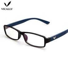 Fashion Eyewear Plain Mirror Ultralight Vintage Computer Anti UV Glasses Frame Eyeglasses Frames oculos de grau feminino