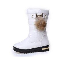 รายการใหม่Hot Saleแฟชั่นเย็นฤดูหนาวบวกกำมะหยี่อบอุ่นป้องกันการลื่นไถลรองเท้าหิมะผู้หญิงผู้หญิงบู๊ทส์jx0032