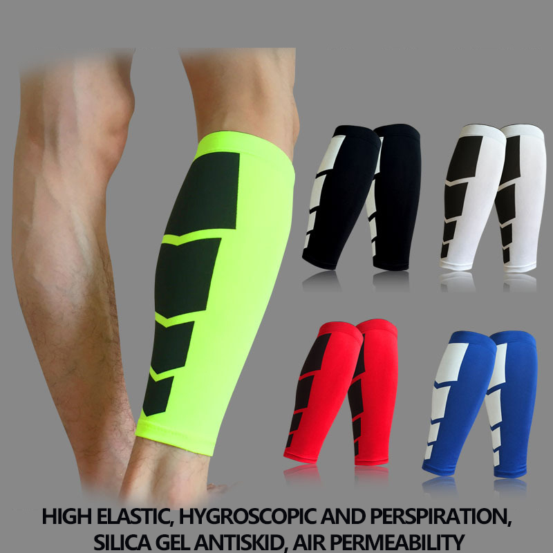 Professional Sports elastic Leggings Sleeves compression stretch protection leg socks ou ...