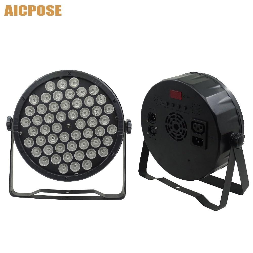 Led Par Lights 54x3W RGB 3in1 Par LED 54*3w Lights  Wash Disco Light DMX 512 Controller Effect Stage Light