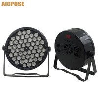 Led Par Lights 54x3W RGB 3in1 Par LED 54*3w Lights Wash Disco Light DMX 512 Controller effect stage light