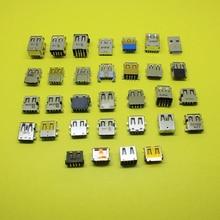 Cltgxdd voor 32 model USB jack voor Laptop notebook, USB 3.0 dubbele USB socket voor lenovo G450 E43 voor Acer 5755