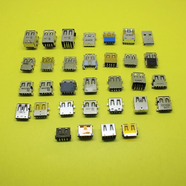 cltgxdd  for 32 model USB jack for Laptop notebook,USB 3.0 double USB socket for lenovo G450 E43 for Acer 5755