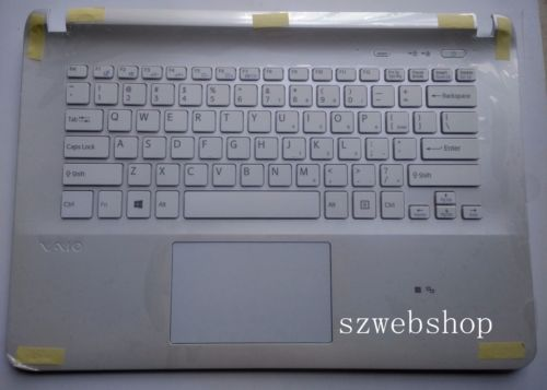 New for sony vaio SVF14E SVF1421S1E SVF1421TST SVF1421UST English US laptop keyboard white palmrest touchpad soobshhenie ot strelkova 25 06 2014 1421