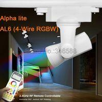 MiLight Alpha lite AL6 25W 4-Wire RGBW RGBWW Full Color 99 Groups LED Auto Rail Track Light + 2.4G Wireless FUT090 Remote