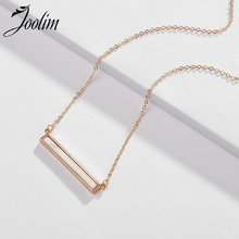 Joolim Trendy Simple Stone Matte Gold Pendant Necklace Cultural